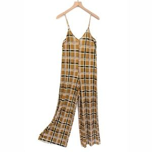 Zara Trafaluc Mustard Yellow Jumpsuit - Size S